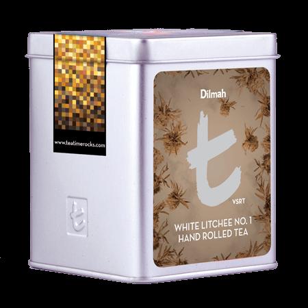 White Litchee No. 1 Hand Rolled Tea