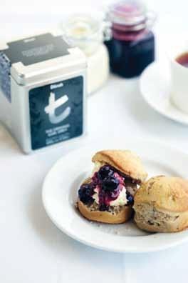 Gourmet Series Earl Grey scones and Berry Sensation tea jam