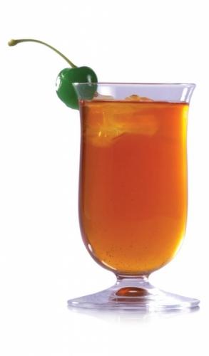 Fizzy Peach Tea Cooler