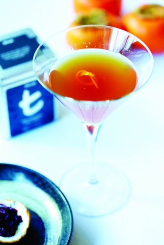 EARL GREY, GRAND MARNIER AND THYME HONEY AFTERNOON REVIVER