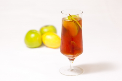 Dilmah Gourmet Earl Grey Iced Tea with Liquorice and Elderflower Float
