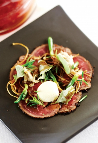 TEA BEEF CARPACCIO