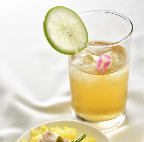 Fragrant Oolong Mocktail