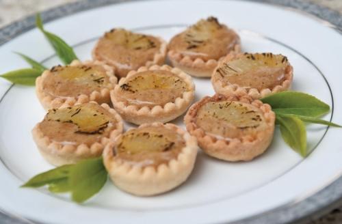 Lemon and Lime Tea Tartlets