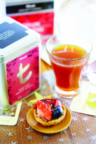 BERRY SENSATIONS TEA CRUST