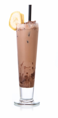 Chocolate & Banana Ice Cream Soda