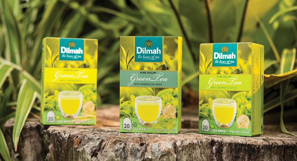 Dilmah Ceylon Green Tea