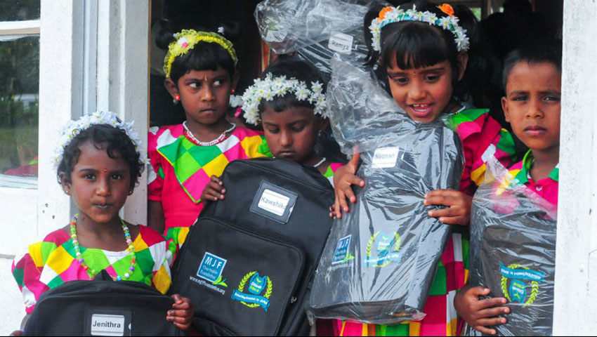 The School Bag Project by Tokai Coop
