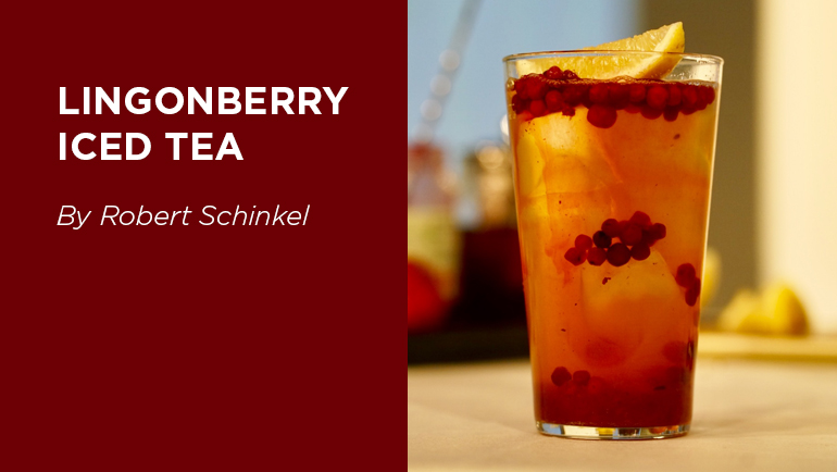 Lingonberry Iced Tea