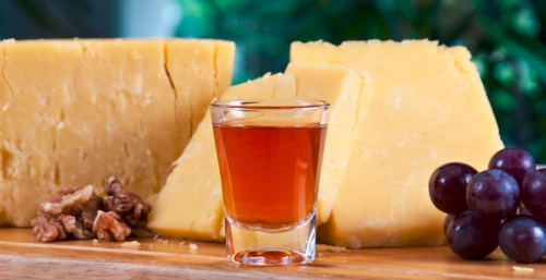 Asiago cheese or Manchego cheese