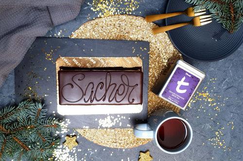 Ceylon Cinnamon Spiced paired with Sachertorte