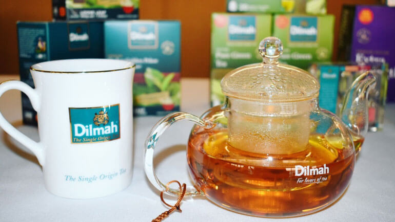 My Favourite Teas from the Sydney Dilmah...