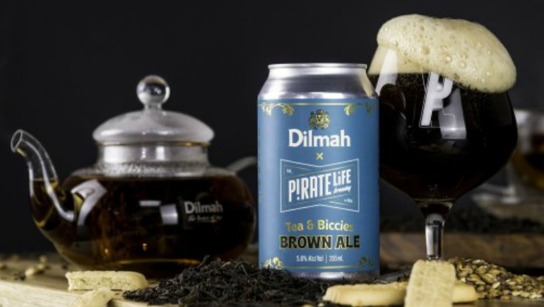 Dilmah tea gets a kick from Pirate...