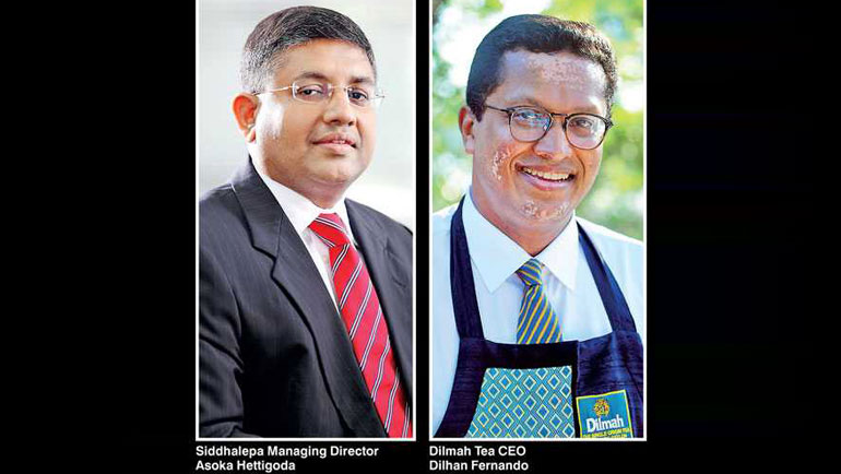 Michel Nugawela sat down with Siddhalepa Managing Director Asoka Hettigoda and Dilmah Tea CEO Dilhan...