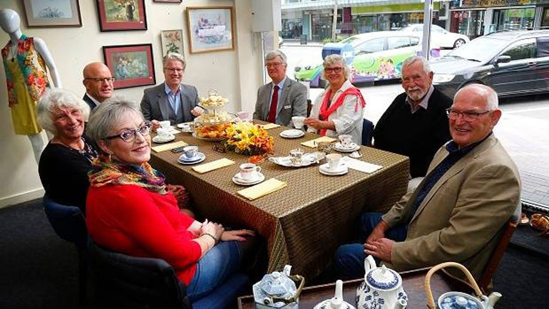 Hospice Whanganui Boutique Hosts Morning Tea To...
