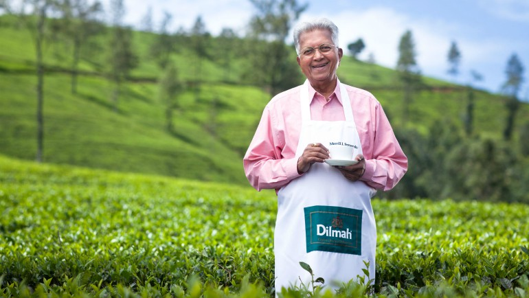 Dilmah founder Merrill J Fernando has spent...