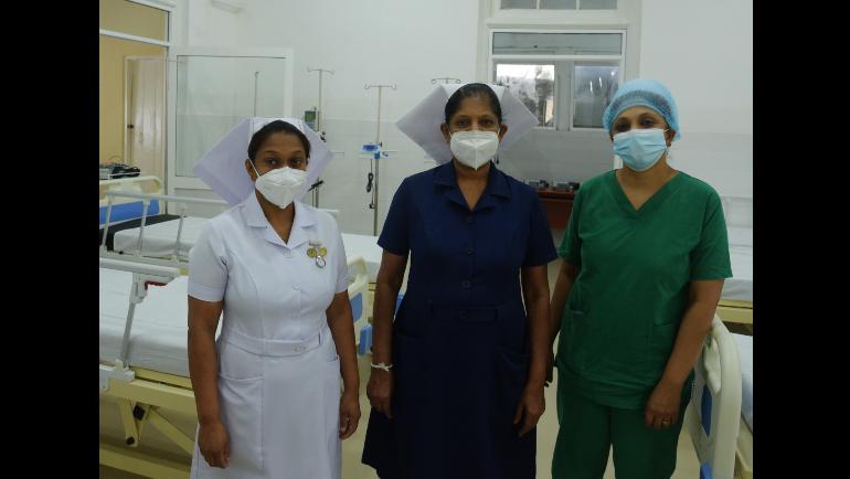 Dilmah Tea and Kahawatte Plantations donate Rs. 25 mn. High Dependency Care Unit to Nawalapitiya General Hospital