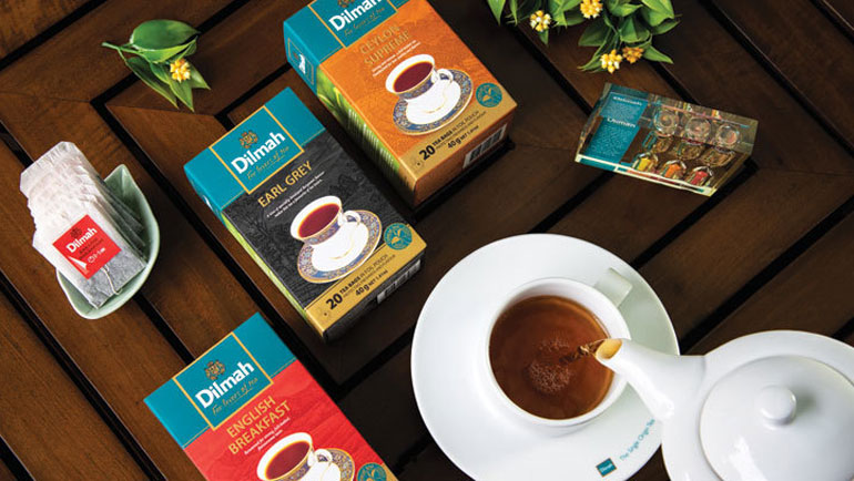 An Emirates dedicated Tea experience from Dilmah