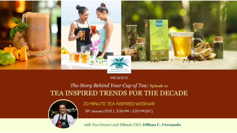 The Dilmah School of Tea Alumni, Dilmah Tea, and Dilmah Tea Gastronomy will be hosting...