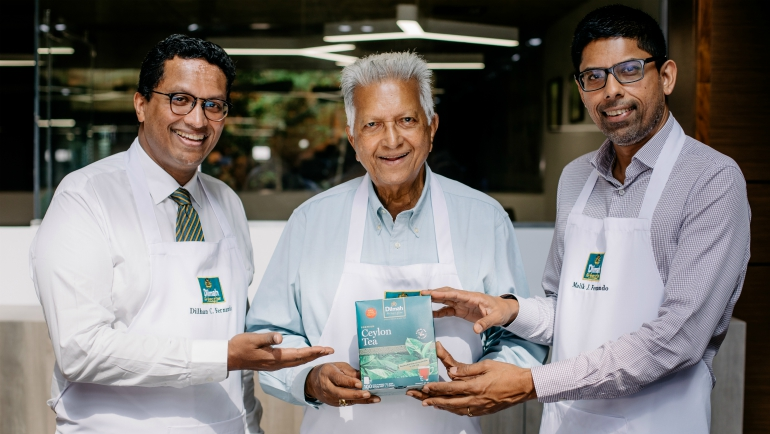 Dilmah Tea Voted as a Trusted &...