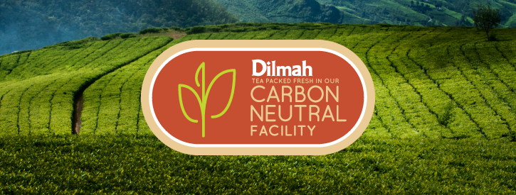 Dilmah Tea Perfect Cuppa for Carbon Conscious