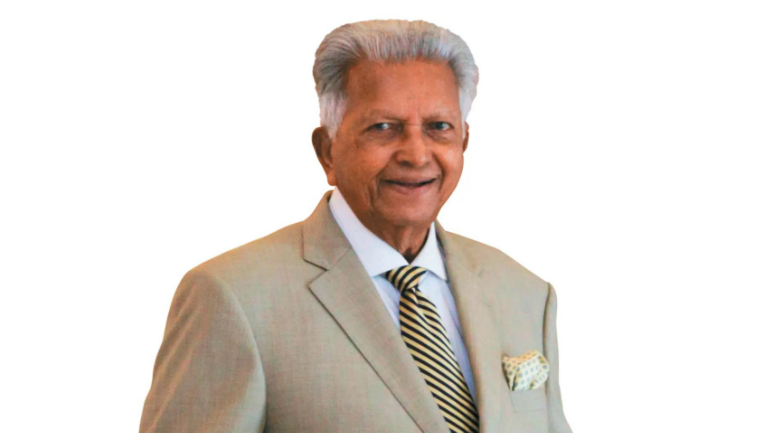 This Sri Lankan businessman, the founder and chairman of Dilmah Tea, counts his blessings every...