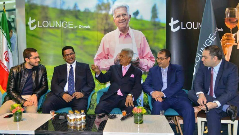 Dilmah Tea Opens Exquisite t-Lounge in Iran
