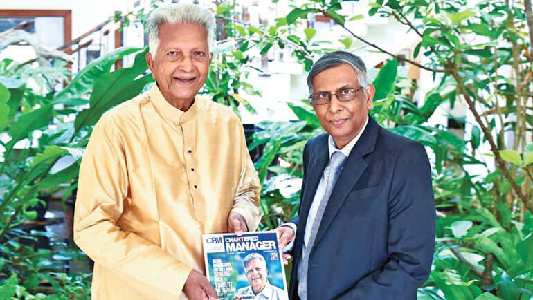 CPM Sri Lanka honours Dilmah founder