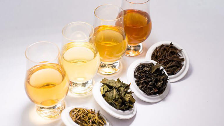 Tea is a unique herb, with different types of tea obtained depending on its method...