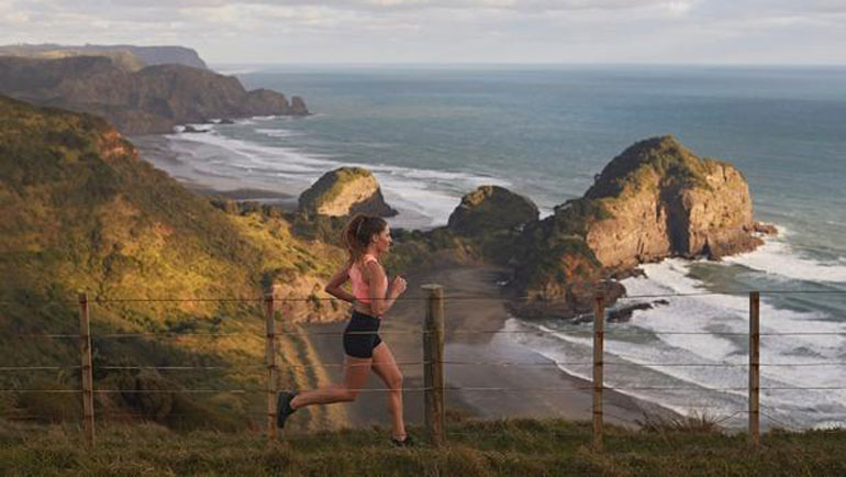 In The Exhilarating Mood With Marathon Runner Lydia O-Donnell