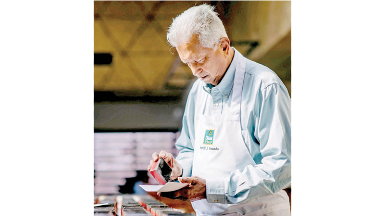 Founder of Dilmah Tea Merrill J. Fernando recently celebrated 71 years in the tea industry.