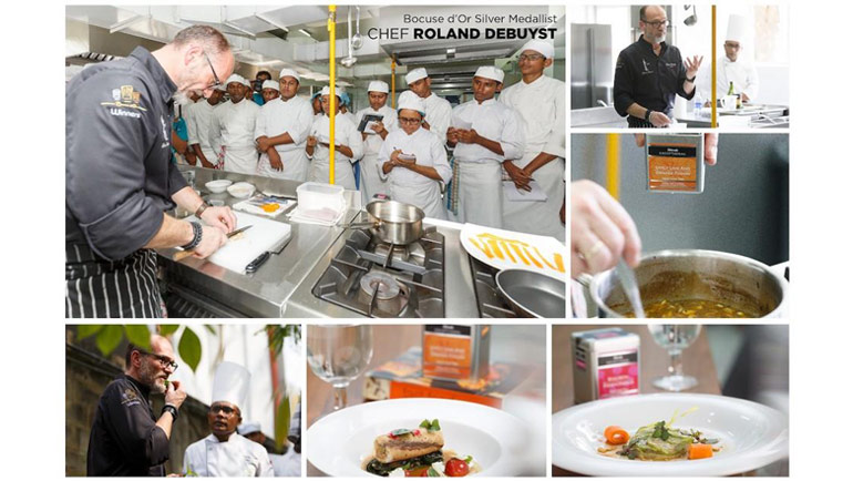 1997 Bocuse d'Or Silver medallist – Chef Roland Debuyst visited Sri Lanka in the months...