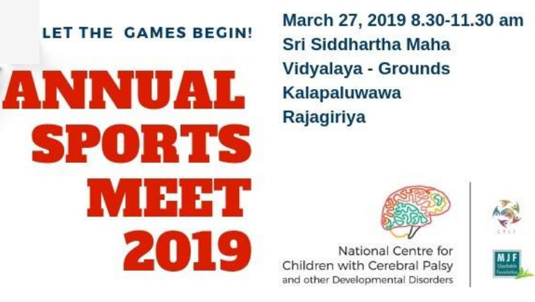 At the annual Sports Meet of Dilmah's NCCCPDD, every child will be given a chance...