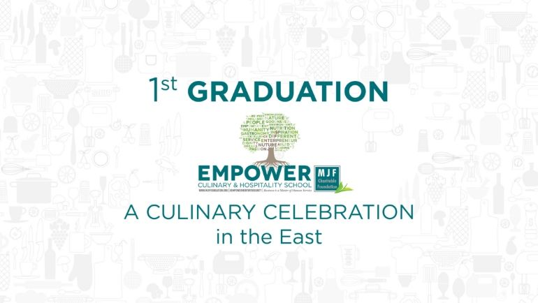 1st Graduation - Empower Culinary & Hospitality School, East