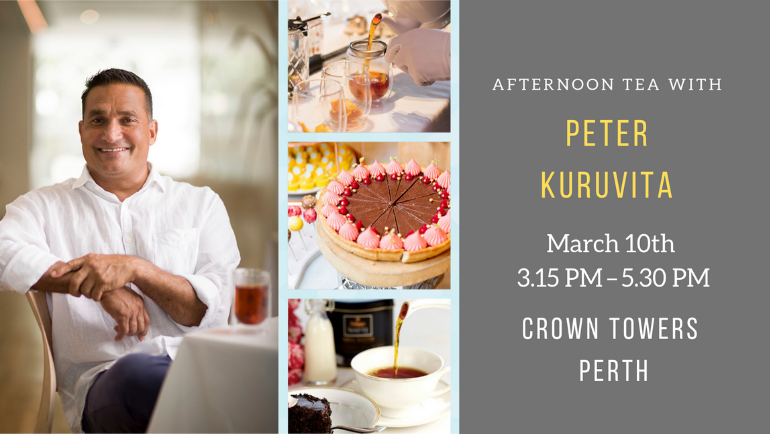 Afternoon Tea with Peter Kuruvita at Crown...