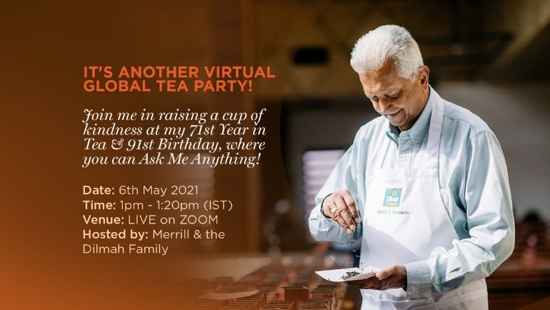 You are invited to a virtual Global Tea Party!