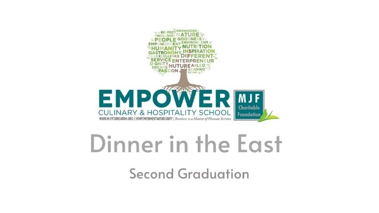 Dinner in the East - Second Graduation