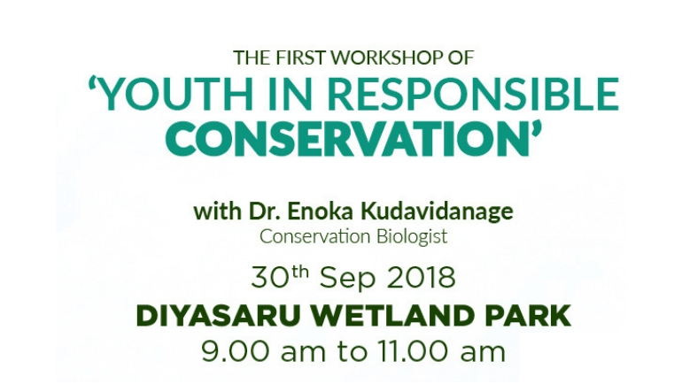 Curated especially for aspiring conservationists of Dilmah Conservation's One Earth Nature Club, 'Youth in Responsible...
