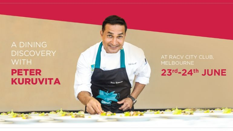 Join Chef Peter Kuruvita on a series of exclusive and interactive culinary events at the...