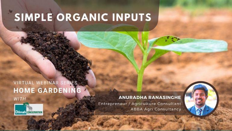 A Webinar on Simple Organic Inputs