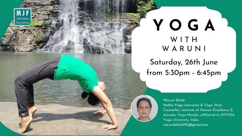 Yoga with Waruni