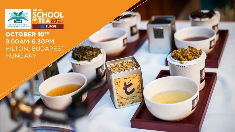 Knowledge Inspires Passion in Europe! Dilmah's School Of Tea 2019 is ready to commence with...