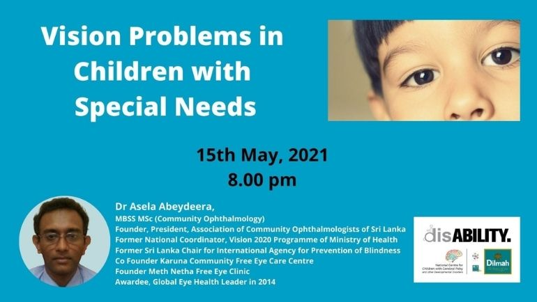 Vision Problems in Children with Special Needs (SINHALA)