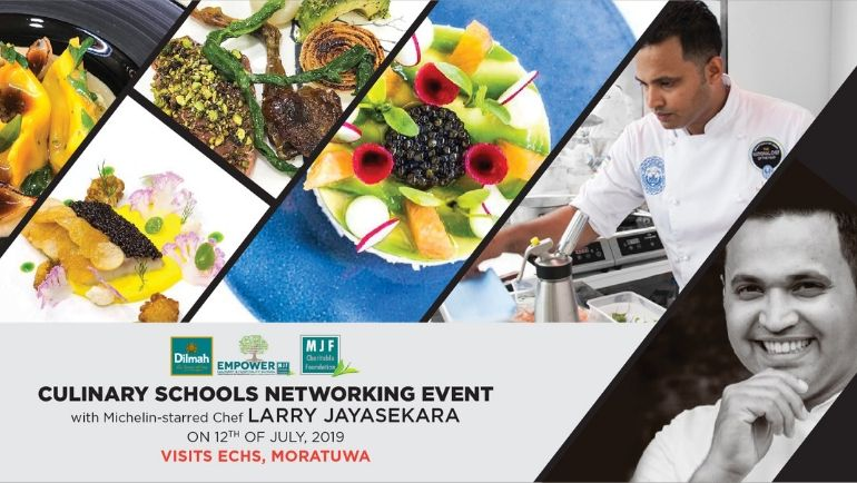 Michelin star chef, Larry Jayasekara will bring his highly-regarded culinary expertise to ECHS, Moratuwa this...