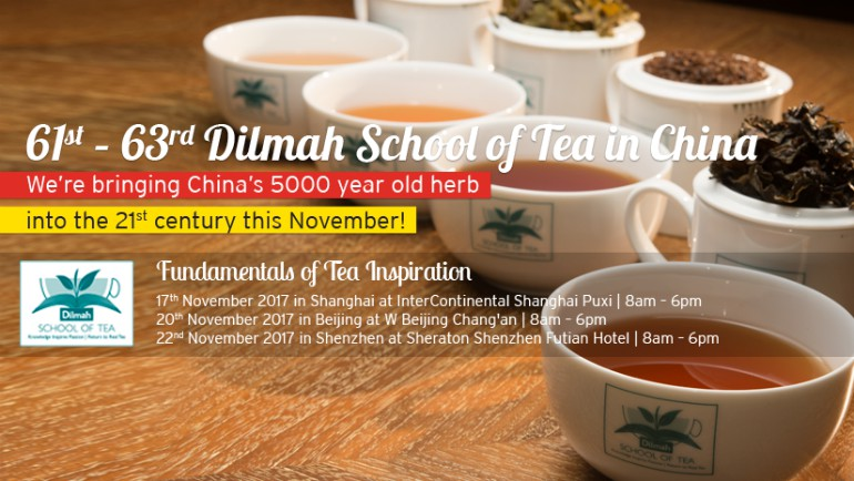 61st - 63rd Dilmah School of Tea In China