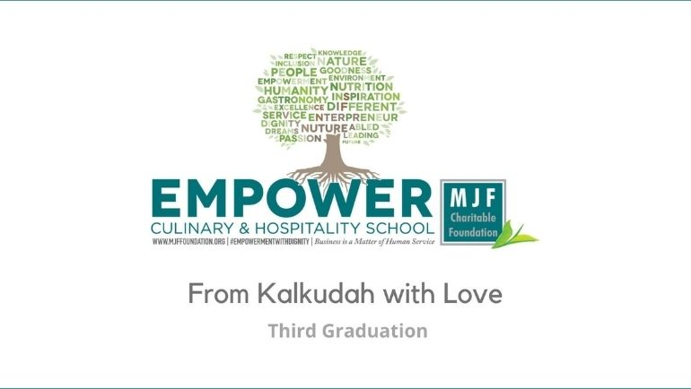 In celebration of their Graduation, the 3rd intake of Empower Culinary & Hospitality School -...