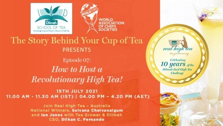How to Host a Revolutionary High Tea!