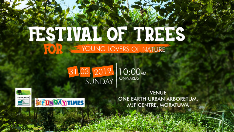 Join Dilmah Conservation for an exciting and fun-filled day at the One Earth Urban Arboretum...
