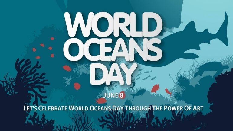 World Oceans Day Through Art