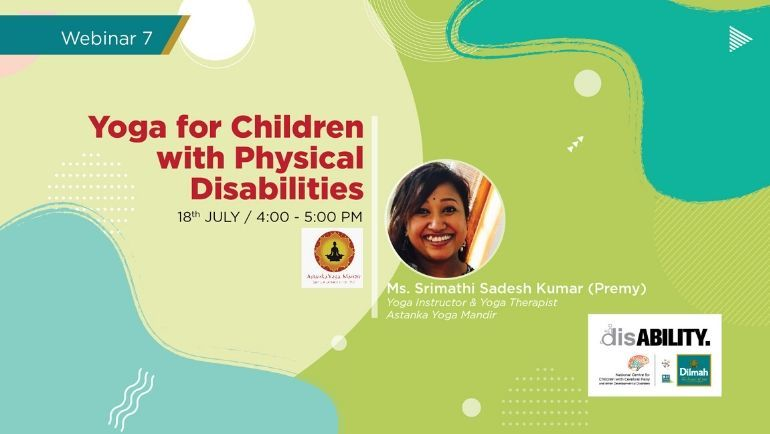 Yoga for Children with Physical Disabilities